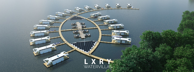 LXRY Water Villa Eco Resort 01