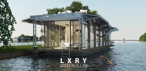LXRY Water Villa Sailor Solar - Exterior 01