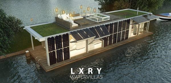 LXRY Water Villa Sailor Solar - Exterior 03